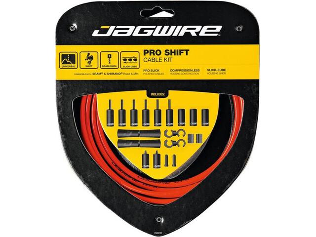 Jagwire 2X Pro Shift Set cavo del cambio, red